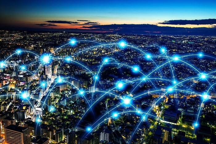 the concept of internet network connection