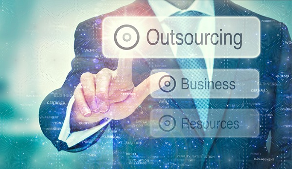 an IT service outsourcing